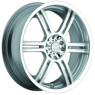 Akuza 424 Silver Wheel Packages