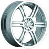 Akuza 424 Silver 17 X 7.5 Inch Wheel