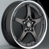Akuza 429 Gun Metal 18 X 7.5 Inch Wheel