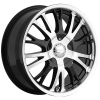 Akuza 455 Drift 18X7.5 Gloss Black