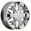 Akuza 508 Reaper Chrome 23 X 9.5 Inch Wheel
