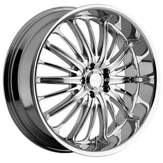 Akuza 761 Belle Chrome Wheel Packages