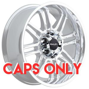 Akuza 839 Ricco Chrome Caps