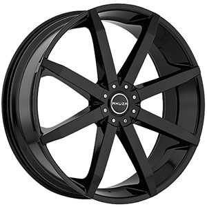Akuza 843 Zenith Gloss Black Wheel Packages