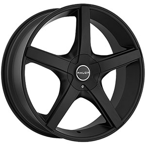 Akuza 848 Axis Flat Black Wheel Packages