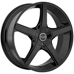 Akuza 848 Axis Gloss Black Wheel Packages