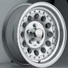 Akuza Aka 050 Machined Clear Coated 14 X 6 Inch Wheel