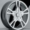 Akuza Aka 448 Panther Chrome 14 X 6 Inch Wheel