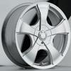 Akuza Aka 449 Silver 14 X 6 Inch Wheel