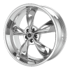 American Racing  AR605 Torq Thrust M 17X8 Chrome Plated