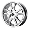 American Racing  AR607 Alert 17X7.5 Chrome