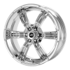 American Racing  AR620 Trench 17X8 Chrome Plated