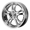 American Racing  AR683 Casino 17X7.5 Chrome Plated