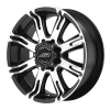 American Racing  AR708 17X8.5 Matte Black Machined
