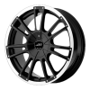 American Racing  AR881 Speedway 18X8 Gloss Black With Clearcoat