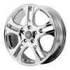 American Racing  AR887 Axl 17X7.5 Chrome Plated