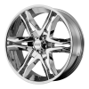 American Racing  AR893 Mainline 17X8 Chrome Plated
