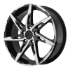 American Racing  AR900 17X7.5 Gloss Black Machined