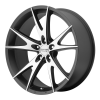 American Racing  AR903 17X8 Gloss Black Machined