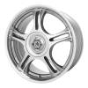 American Racing  AR95T 17X7.5 Machined With Clearcoat