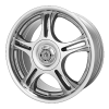 American Racing  AR95T 18X7.5 Machined With Clearcoat