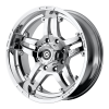 American Racing  AX181 Artillery 17X9 Chrome Plated
