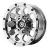 American Racing  AX186 Slot 15X8 Chrome Plated