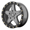 American Racing  AX194 Ravine 18X8.5 Matte Gray With Black Reinforcing