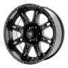 American Racing  AX3991 Thug 20X10 Black