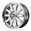 American Racing  AX805 Force 18X9 Bright Pvd