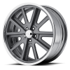 American Racing VN407 Shelby Cobra SL 20X10.5 Two-Piece Mag Gray Center Polished Barrel