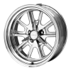 American Racing  VN427 Shelby Cobra 17X9.5 2-Piece Mag Gray Center Polished Rim