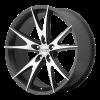 American Racing  VN450 Hopster 20X9 Gloss Black Machined