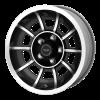 American Racing  VN47 Vector 15X7 Satin Black Machined
