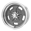 American Racing  VN470 Salt Flat 20X15 Mag Gray Center Polished Barrel