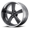 American Racing VN472 Burnout 18X9 Black Milled with Polished Barrel