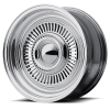 American Racing VN478 Turbine 15X14 Two-Piece Polished