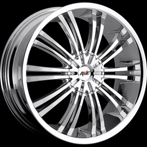Avenue type 601 Chrome 16 X 7 Inch Wheel