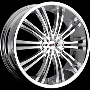 Avenue type 601 Chrome 16 X 7 Inch Wheel