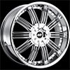 Avenue type 603 Chrome 24 X 9.5 Inch Wheel