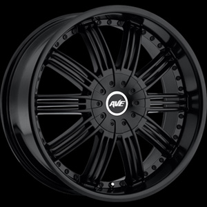 Avenue type 603 Satin Black 26 X 9.5 Inch Wheel