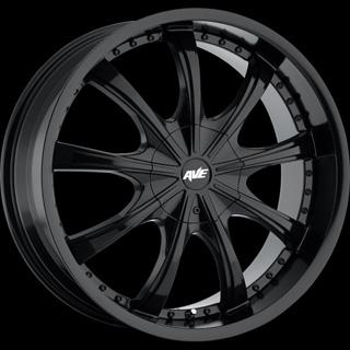 Avenue Type 605 Black Wheel Packages