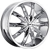 Avenue 608 Chrome 17 X 7.5 Inch Wheel