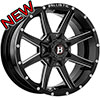 Ballistic Razor Back 956 Gloss Black 17 X 9 Inch Wheel