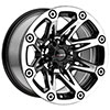 Ballistic 522 Black Machined 15 X 8 Inch Wheel
