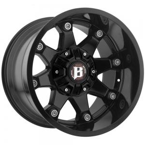 Ballistic 581 Beast 22X12 Gloss Black