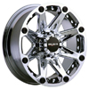 Ballistic Jester 814 Chrome 22 X 9.5 Inch Wheel