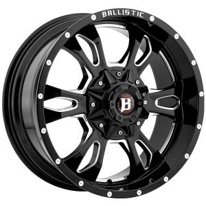 Ballistic Mace 957 17X9 Gloss Black