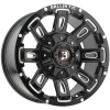 Ballistic Ravage 958 17X9 Gloss Black