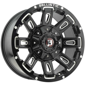 Ballistic Ravage 958 18X9 Gloss Black